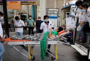 22 covid patients died in india as oxygen runout in hospital