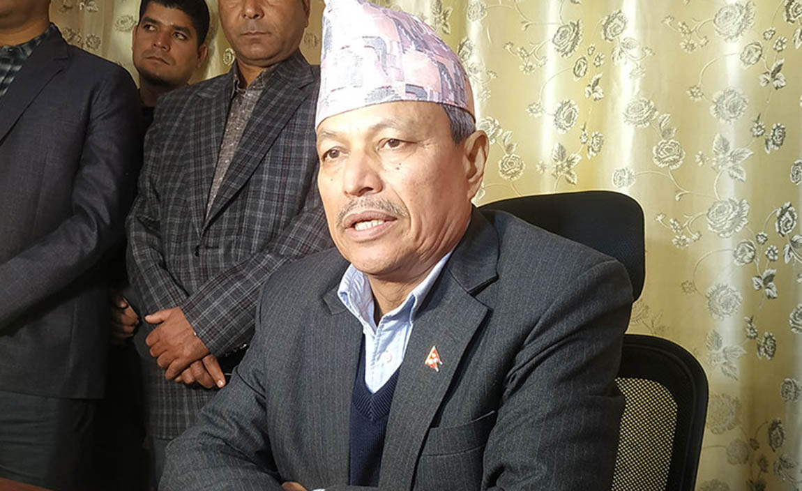 """""""I am ready to lose on my own to defeat KP Oli"""": - Bhim Rawal"""