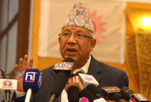 Action against four UML leaders including Madhab Nepal withdrawn
