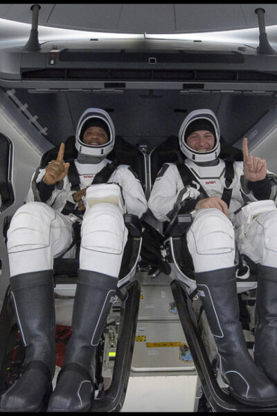 astronauts returned to Earth after six months