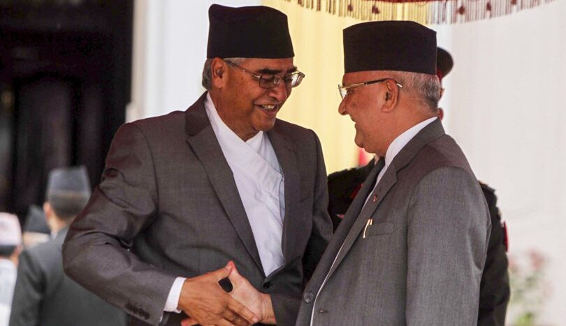 Who will be the new Prime Minister of Nepal'?