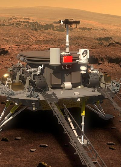 Chinese spacecraft successfully lands on Mars