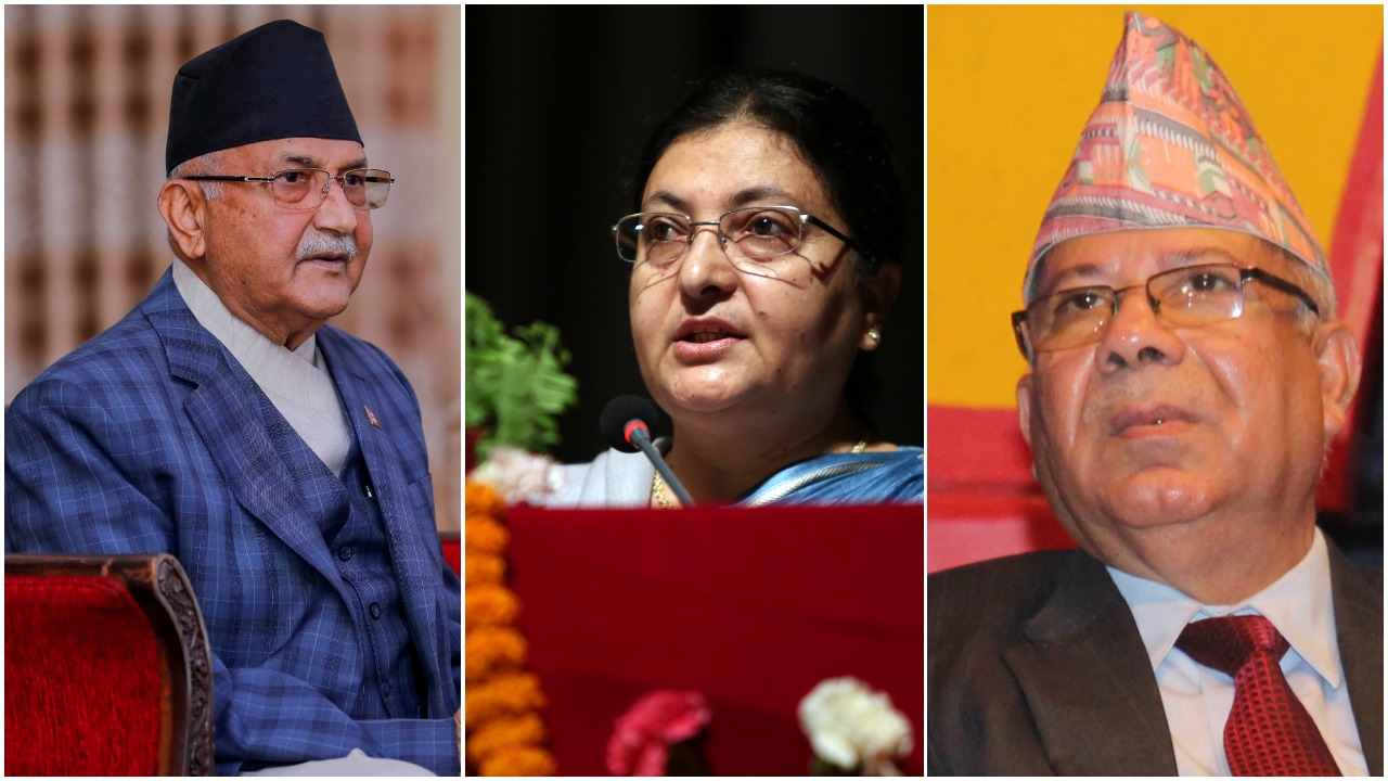 President's proposal to form a new government led by Nepal to save UML