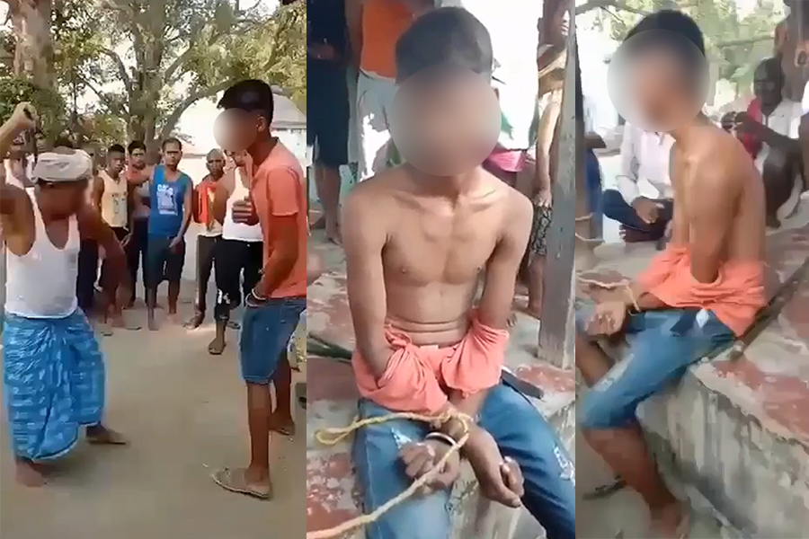 Beating and horrible torture on a young man for sending a love letter to a young woman