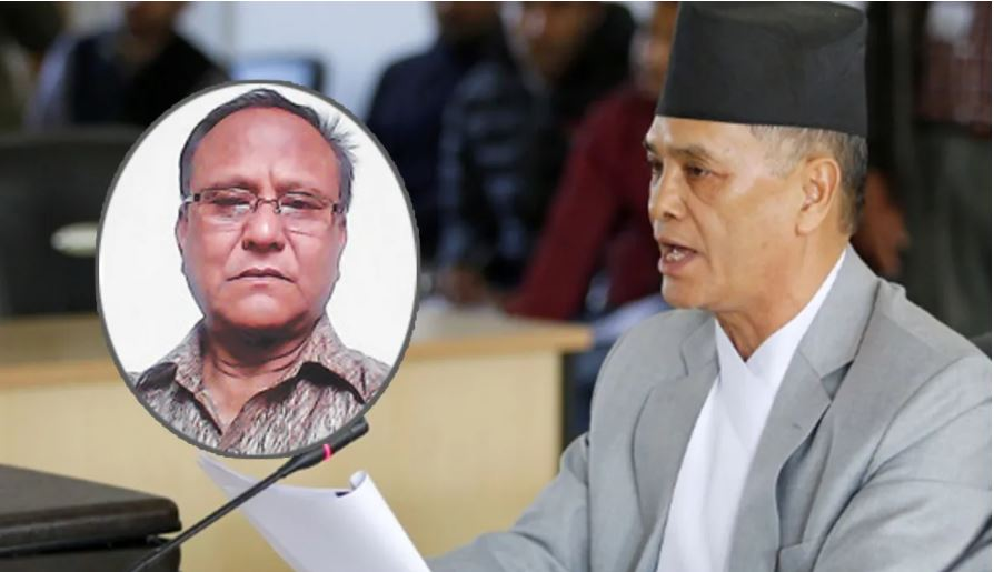 Ministry of Industry to the Chief Justice's brother-in-law for making Deuba the Prime Minister